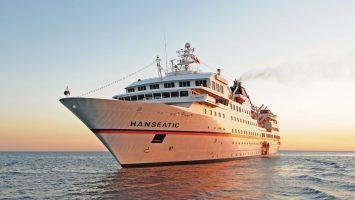 Die Kulturhighlights der Ostsee stehen im Frühjahr 2018 auf dem Routenplan der MS Hanseatic. Foto: Hapag Lloyd Cruises