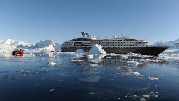 Die L'Austral von Ponant in der Arktis. Foto: Ponant - Nathalie Michel