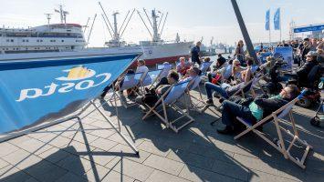 Wie schon 2015 ist Costa auch dieses Jahr auf den Cruise Days vertreten. Foto: AIDA/CHLietzmann