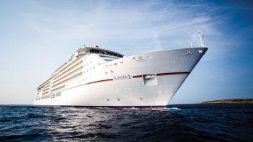 Die MS Europa 2. Foto: Hapag Lloyd Cruises