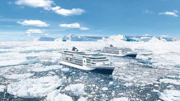 Routenvorschau 2019/2020 der neuen Expeditionsschiffe von Hapag Lloyd Cruises. Foto: Hapag Lloyd Cruises