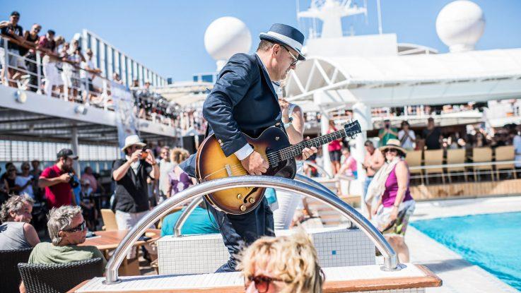 Das Line-Up für die 7. Rock & Blues Cruises steht fest. Foto: Music Cruise AG