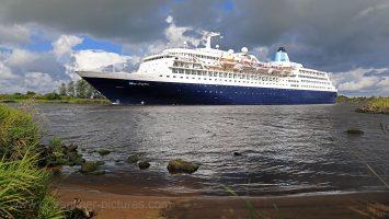 2018 startet auf der Saga Sapphire die Secret Cruise. Foto: Oliver Asmussen/oceanliner-pictures.com