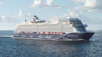 Die neue Mein Schiff 1 von TUI Cruises llustration: TUI Cruises
