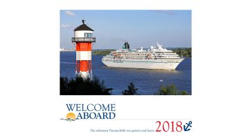 Mit dem neuen Welcome Aboard Magazin ist auch der Kalender 2018 erschienen. Foto: Welcome Aboard