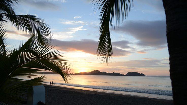 Wunderschöne Sonnenuntergänge in der Karibik. Foto: André Lenthe