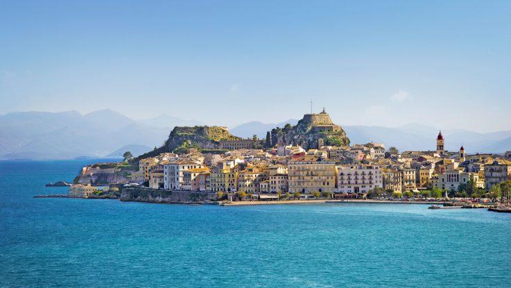 Traumhafte Ziele wie Korfu werden mit der MSC Lirica angefahren. Foto: MSC Kreuzfahrten