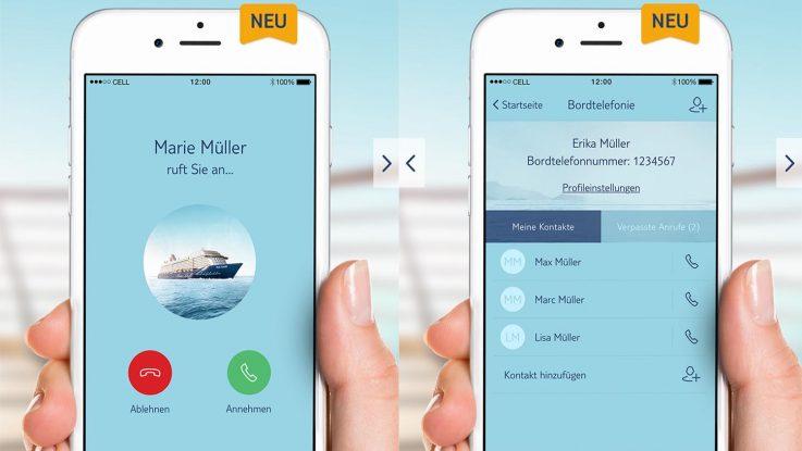 Mitreisende An Bord Kostenlos Anrufen Tui Cruises Machts Auf Der