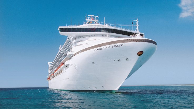 Die Caribbean Princess befuhr den Panamakanal. Foto: Princess Cruises