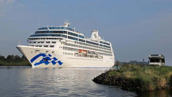 Pacific Princess von Princess Cruises. / Foto: Oliver Asmussen/oceanliner-pictures.com