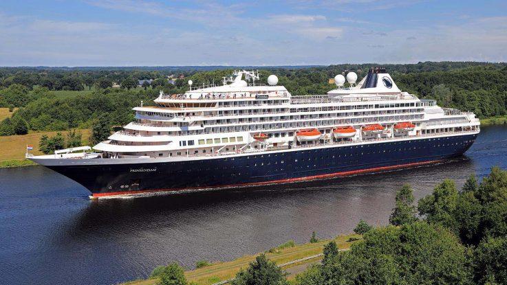 Prinsendam von Holland America Line. / Foto: Oliver Asmussen/oceanliner-pictures.com