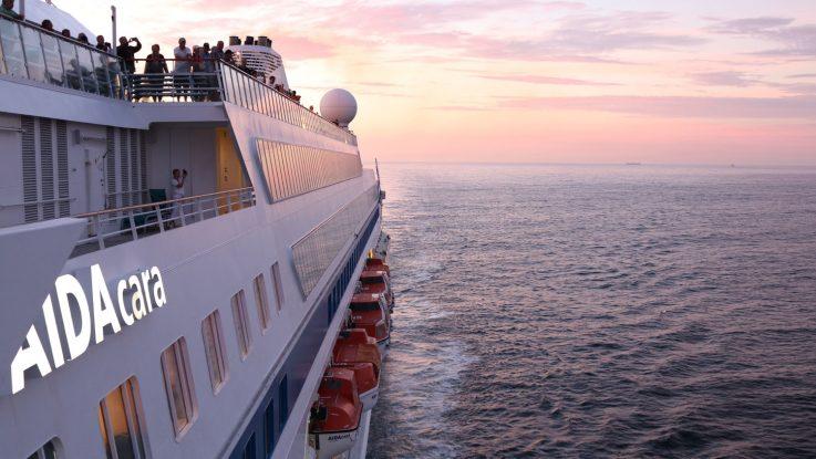 AIDAcara erreichte als erstes Schiff der Flotte Australien. Foto: AIDA Cruises