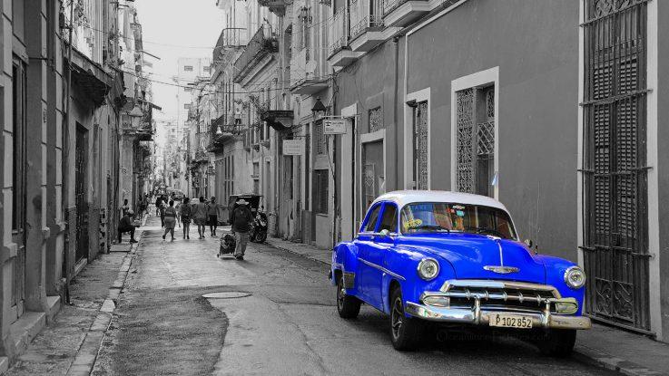 In den Strassen von Havanna. / Foto: Oliver Asmussen/oceanliner-pictures.com
