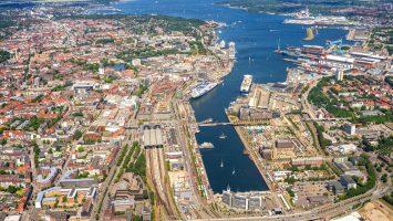 168 Anläufe erwartet Kiel in diesem Jahr. Foto: Port of Kiel/Tom Koerber