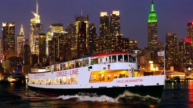 Valentinstag auf dem New York Hudson River erleben. Foto: Circle Line Sightseeing