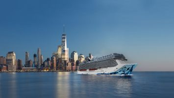 Die Norwegian Bliss startet ab New York. Foto: Norwegian Cruise Line