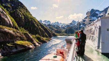Hurtigruten wird 125 Jahre alt. Foto: Hurtigruten