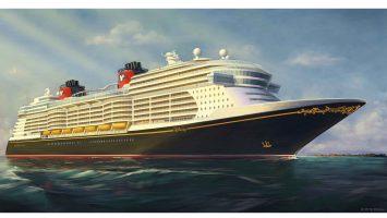 Blick auf das Design der neuen Disney Schiffe. Rendering: Disney Cruise Line