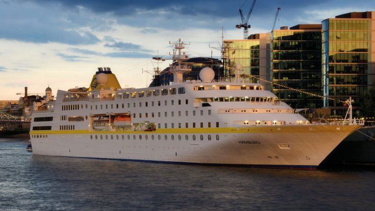Die MS Hamburg von Plantours Kreuzfahrten. Foto: Plantours Kreuzfahrten