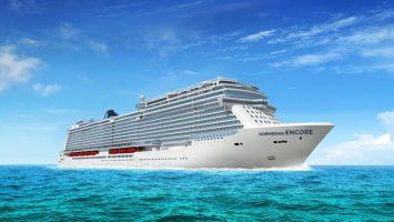 2019 startet die Norwegian Encore. Foto: Norwegian Cruise Line