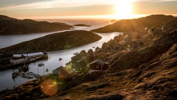 Einmalige Chance: Mit MSC auf Kreuzfahrt nach Grönland. Foto: Mads Pihl - Visit Greenland - Under agreement with Visit Greenland A/S about the use of the image under this license.