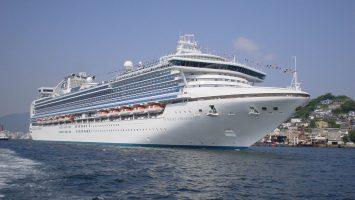 Die Sapphire Princess. Foto: Princess Cruises