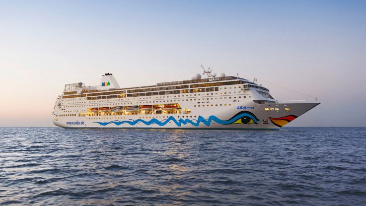 Die AIDAmira. Foto: AIDA Cruises