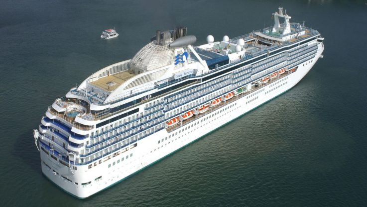 Die Coral Princess von Princess Cruises. Foto: Princess Cruises