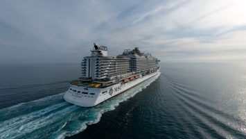 Die MSC Seaview. Foto: MSC Cruises