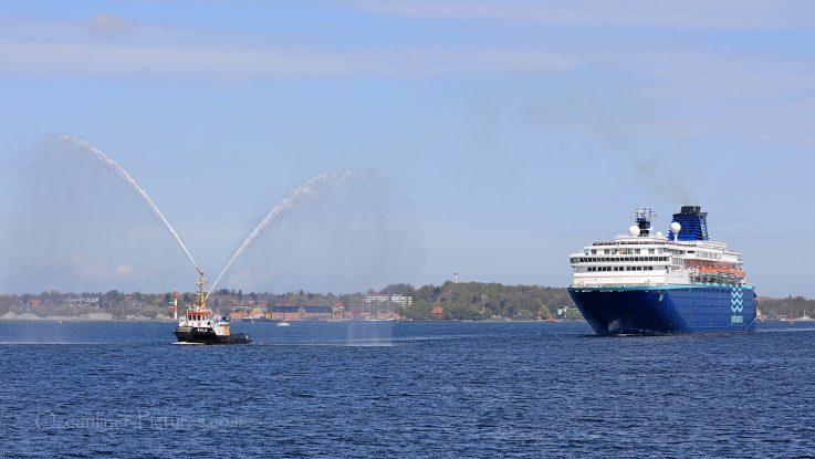 Zenith 04.05.2018 Erstanlauf Kiel. / Foto: Oliver Asmussen/oceanliner-pictures.com