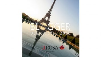 A-Rosa sucht den Blogger des Jahres 2018. Foto: A-Rosa Flussschiff