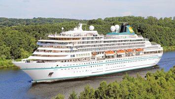 Die Prinsendam wechselt zu Phoenix Reisen und heißt künftig Amera. Foto Retusche: Phoenix Reisen