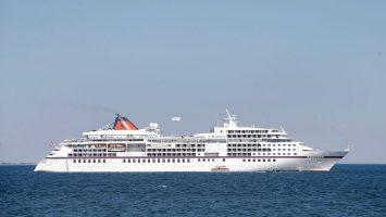 Die MS Europa vor Sylt. Foto:Franziska Krug/Getty Images for Hapag-Lloyd Cruises