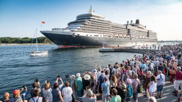 Queens Day Village am 07.08.2018 in Travemünde. Foto: Cunard