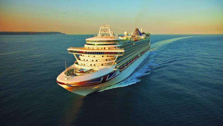 Die Azura von P&O. Foto: P&O Cruises