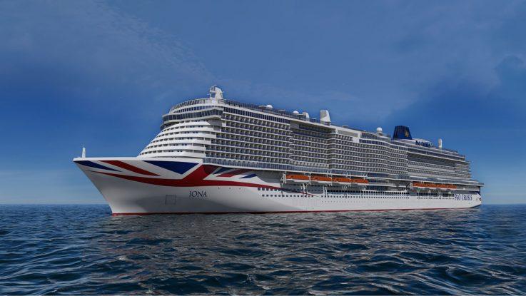 Die Iona. Foto: P&O Cruises