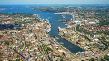 Kiel beendet Kreuzfahrtsaison 2018. Foto: Port of Kiel