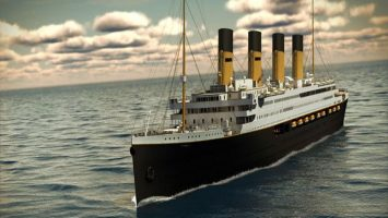 So soll die titanic II einmal aussehen. Foto: Blue Star Line