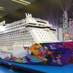 Die World Dream aus Lego. Foto: Guinness World Record
