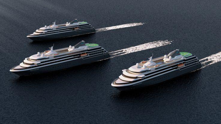 Insgesamt drei Schiffe werden gebaut. Foto: nicko cruises