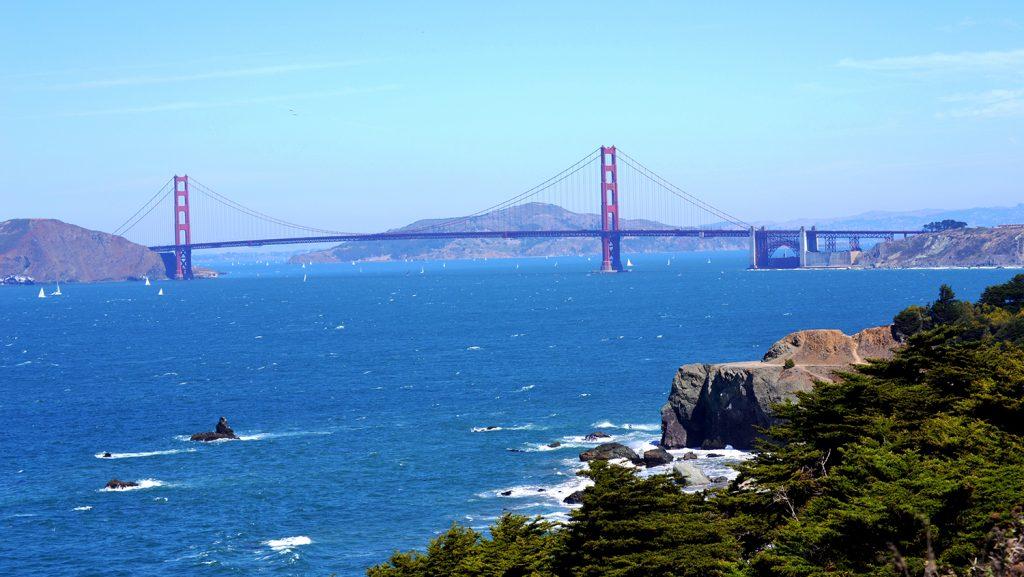 Die historische Kreuzfahrt startet in San Francisco / Foto: Karin Seemayer