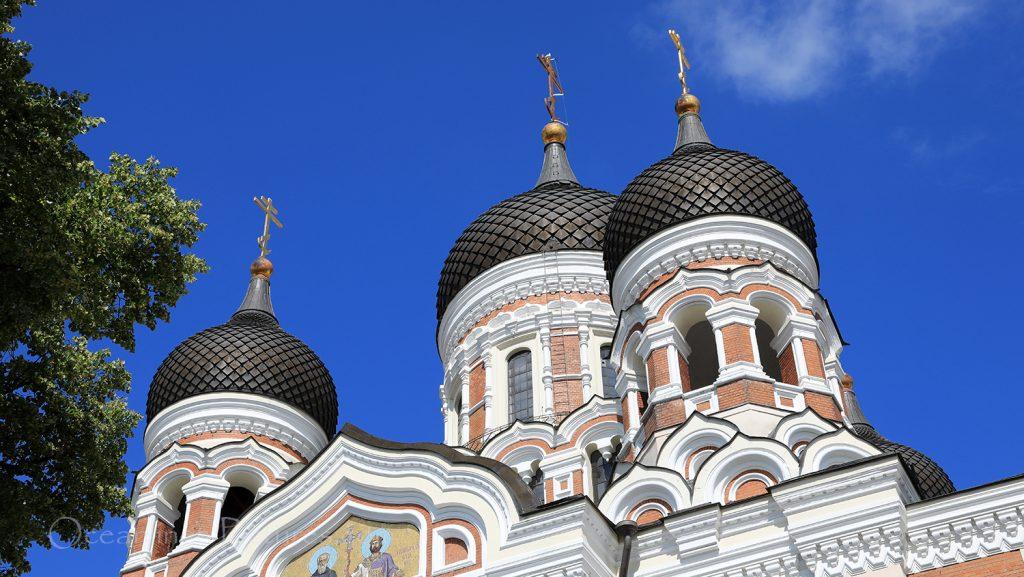 Alexander-Newski-Kathedrale Tallinn / Foto: Oliver Asmussen/oceanliner-pictures.com