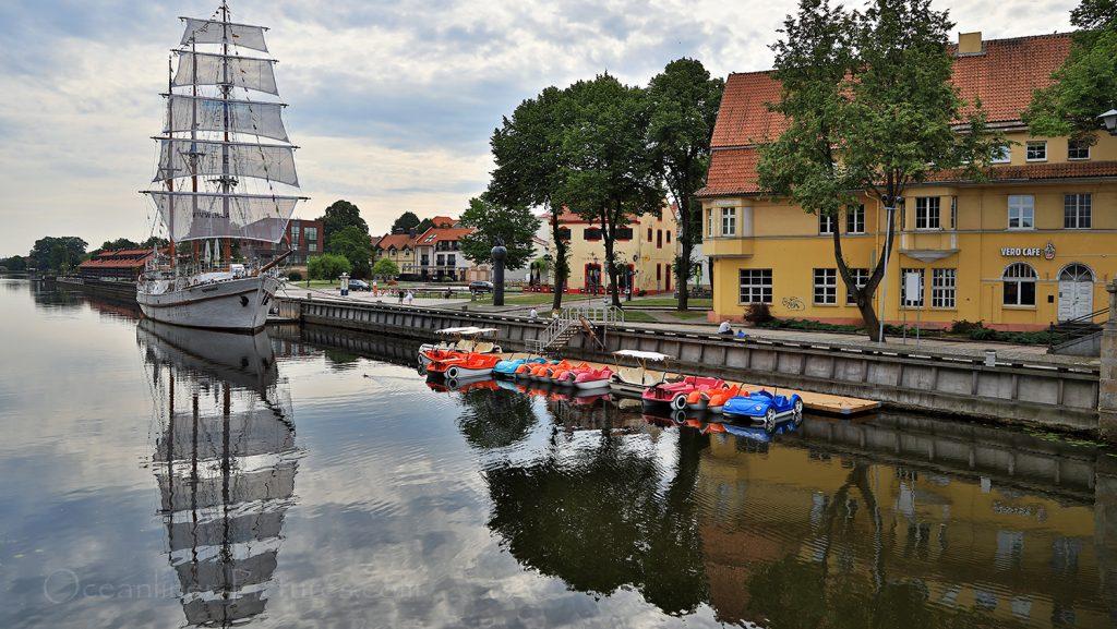Altes Segelschiff Meridianas in Klaipeda / Foto: Oliver Asmussen/oceanliner-pictures.com