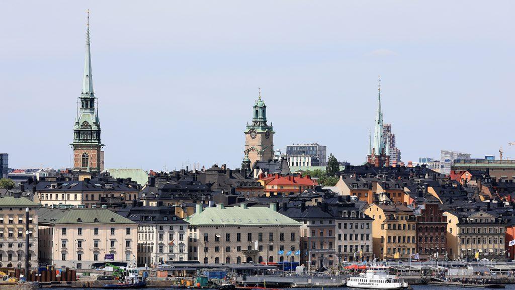 Blick auf Stockholm / Foto: Oliver Asmussen/oceanliner-pictures.com