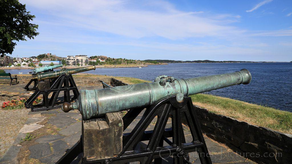 Blick von Christianholm Festung in Kristiansand / Foto: Oliver Asmussen/oceanliner-pictures.com