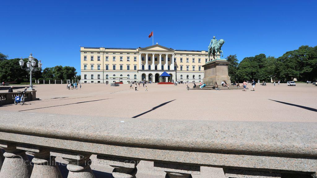 Das Königliche Schloss in Oslo / Foto: Oliver Asmussen/oceanliner-pictures.com