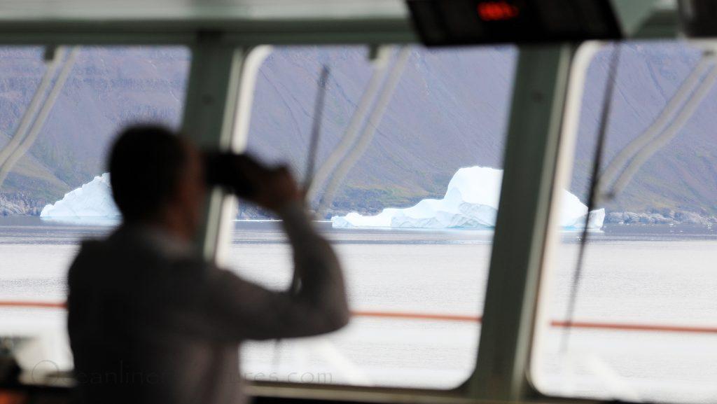 Eisberge in Sicht MS Hamburg Qeqertarsuaq / Foto: Oliver Asmussen/oceanliner-pictures.com