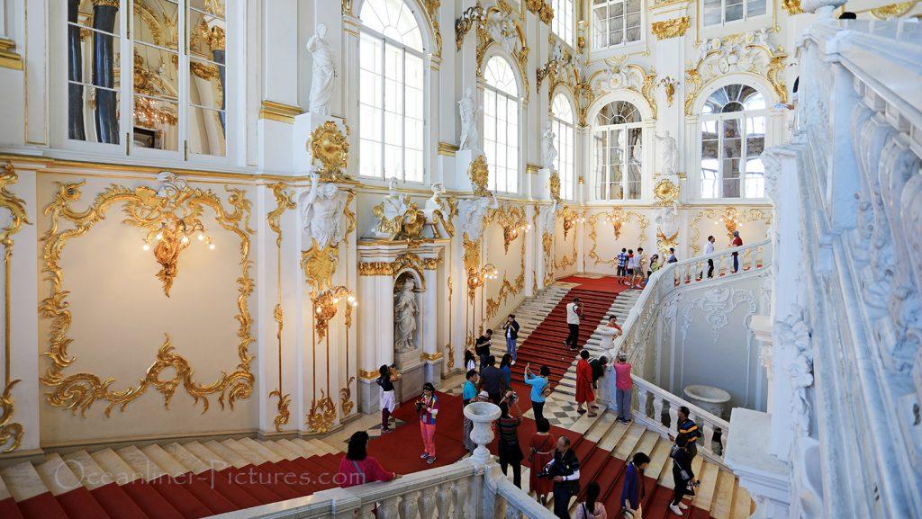Eremitage St. Petersburg / Foto: Oliver Asmussen/oceanliner-pictures.com
