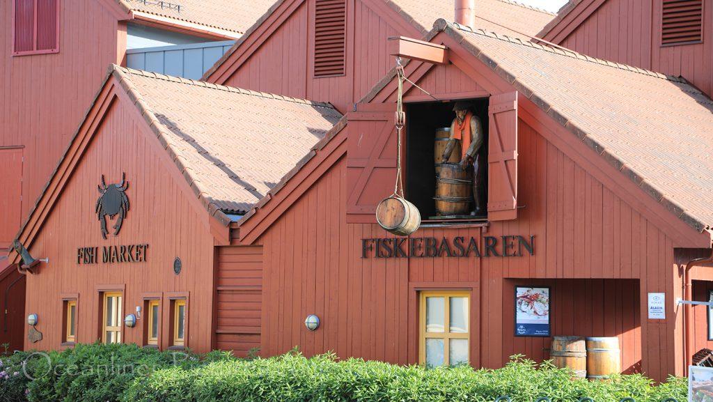 Fiskebrygga in Kristiansand Norwegen / Foto: Oliver Asmussen/oceanliner-pictures.com