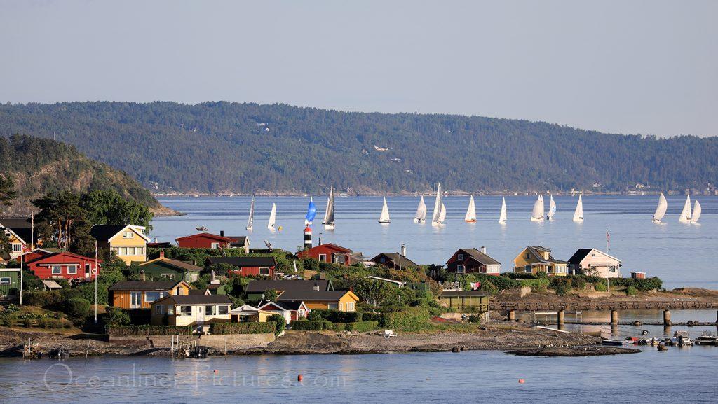 Impressionen vom Auslaufen aus Oslo / Foto: Oliver Asmussen/oceanliner-pictures.com